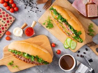 Собирать пазл Сендвичи онлайн