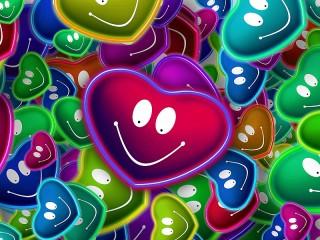 Собирать пазл Сердечки онлайн