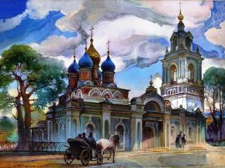 Собирать пазл Сергиев Посад онлайн