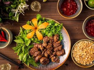 Собирать пазл Сервировка блюда онлайн
