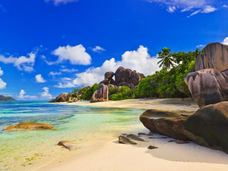 Пазл Собирать пазлы онлайн - Сейшельские острова