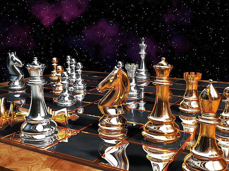 Пазл Собирать пазлы онлайн - Шахматы