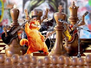 Собирать пазл Шахматный концерт онлайн