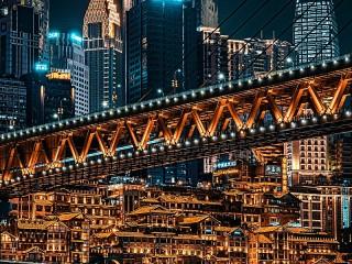 Собирать пазл Шанхай Китай онлайн