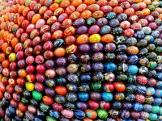 Собирать пазл Шар из яиц онлайн