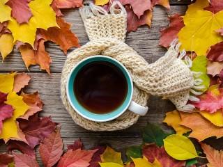 Собирать пазл Шарф для чая онлайн