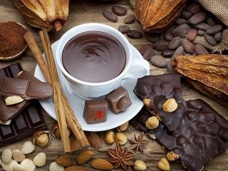 Собирать пазл Шоколад онлайн