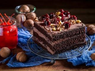 Собирать пазл Шоколадная выпечка онлайн