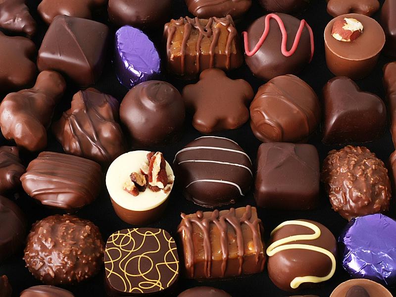 Пазл Собирать пазлы онлайн - Шоколадное ассорти