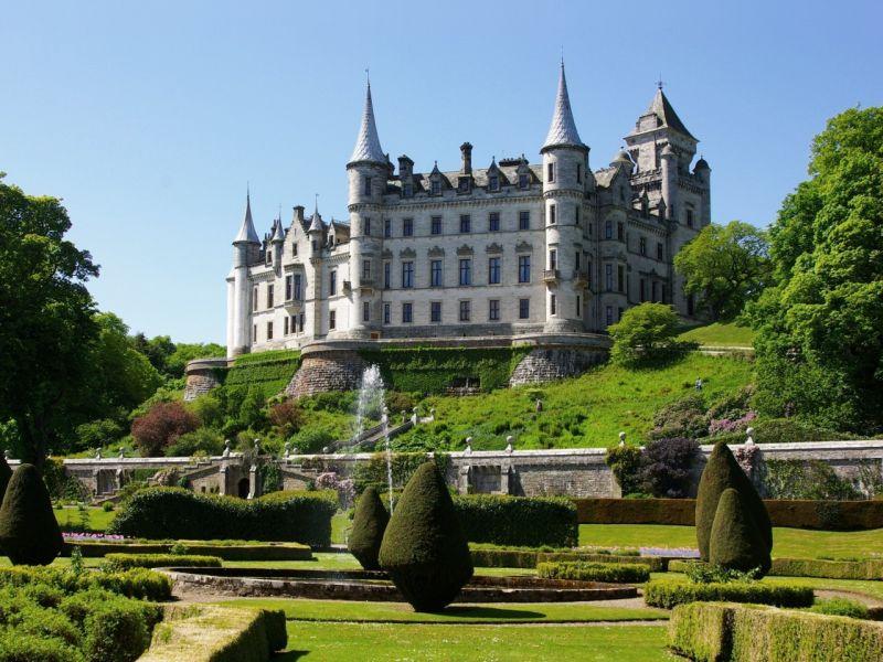 Пазл Собирать пазлы онлайн - Шотландия замок