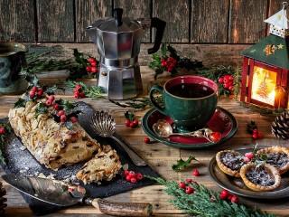 Собирать пазл Штоллен на Рождество онлайн