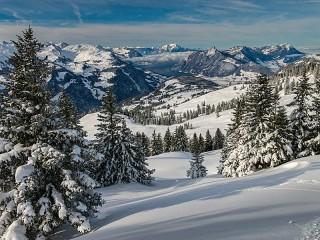 Собирать пазл Швейцарские Альпы онлайн