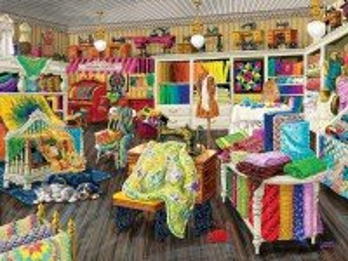 Собирать пазл Швейная мастерская онлайн