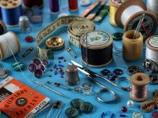 Собирать пазл Швейный набор онлайн