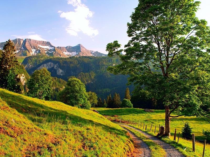 Пазл Собирать пазлы онлайн - Швейцария