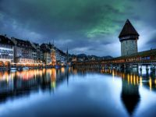 Собирать пазл Швейцарский мост онлайн