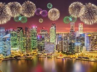 Собирать пазл Сингапур онлайн