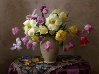 Собирать пазл Симфония тюльпанов онлайн