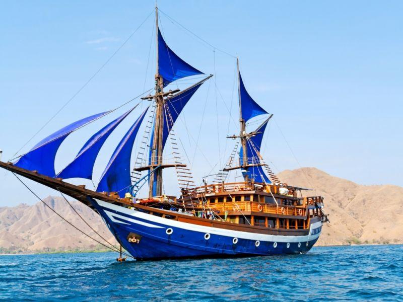 Пазл Собирать пазлы онлайн - Синие паруса