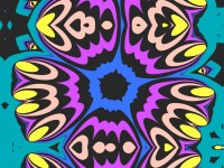 Собирать пазл Синий и фиолетовый онлайн
