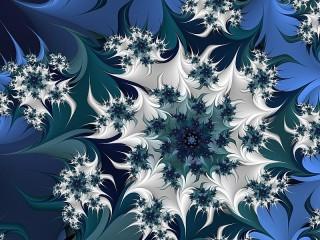 Собирать пазл Синий и серый онлайн