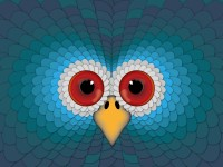 Собирать пазл Синяя сова онлайн