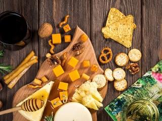 Собирать пазл Сырное печенье онлайн