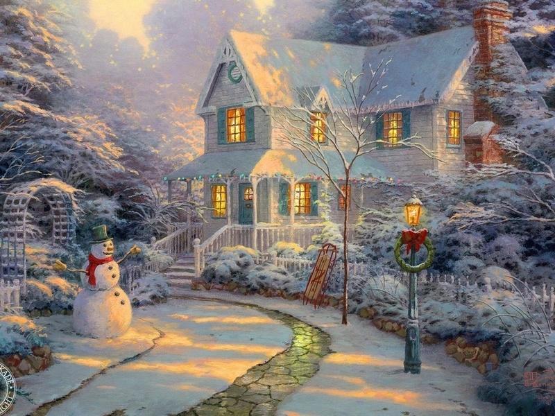 Пазл Собирать пазлы онлайн - Сказка Зимы
