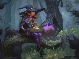 Собирать пазл Сказки ведьмы онлайн