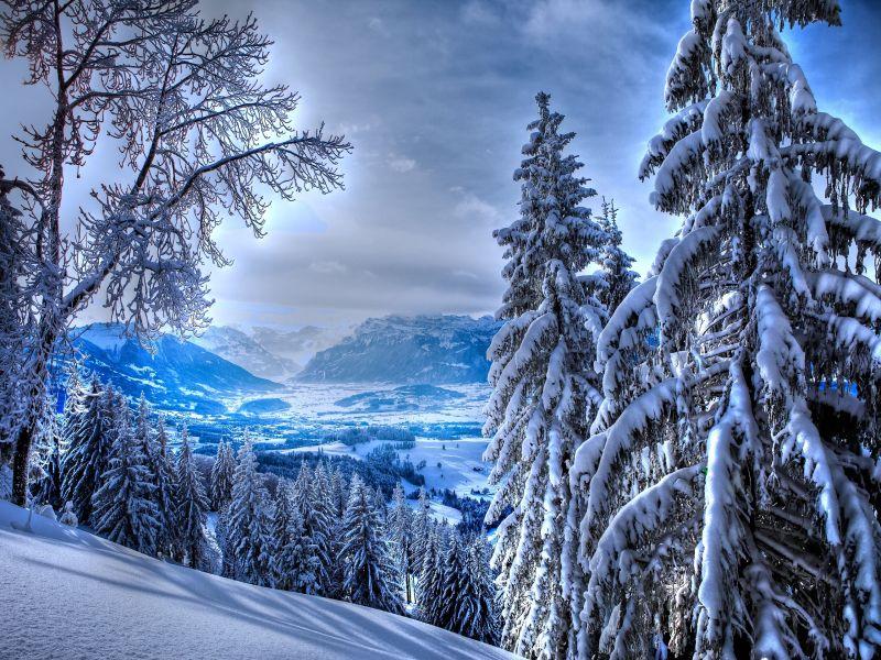 Пазл Собирать пазлы онлайн - Сказочная зима