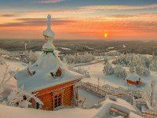Собирать пазл Сказочная зима онлайн