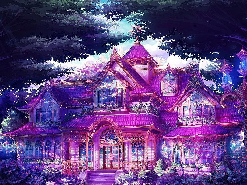 Пазл Собирать пазлы онлайн - Сказочный дом