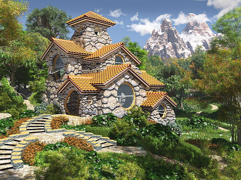 for Fairy tale home plans