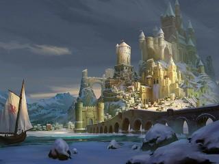 Собирать пазл Сказочный замок онлайн