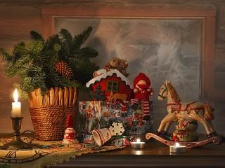 Собирать пазл Скоро Рождество онлайн