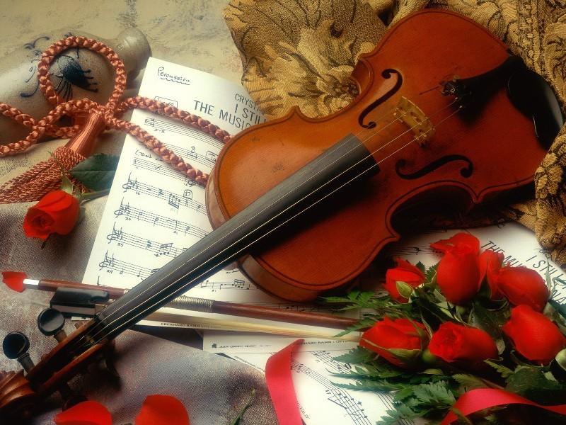 Пазл Собирать пазлы онлайн - Скрипка