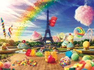 Собирать пазл Сладкий Париж онлайн