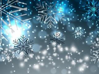 Собирать пазл Снежинки онлайн