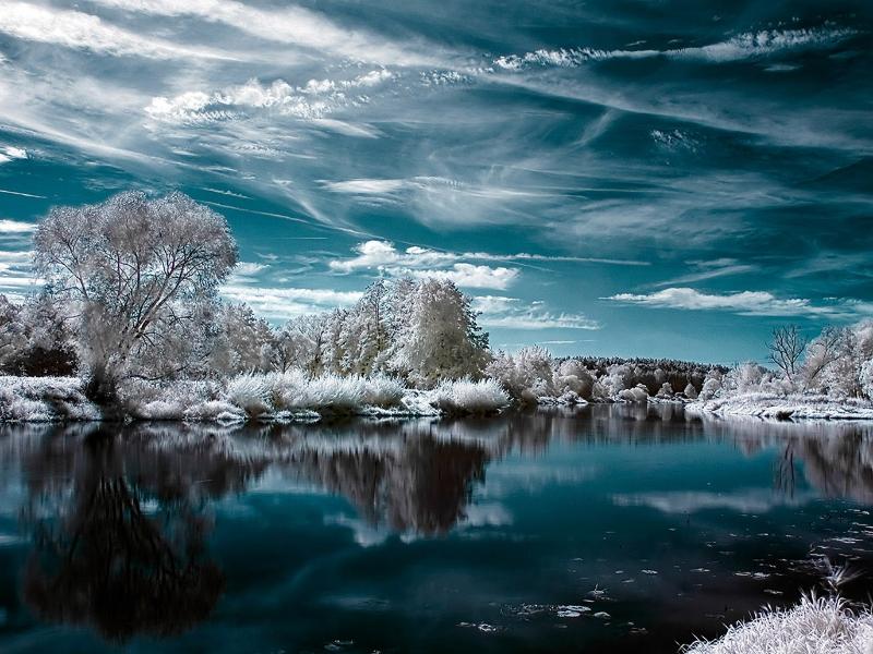 Пазл Собирать пазлы онлайн - Снежная идиллия