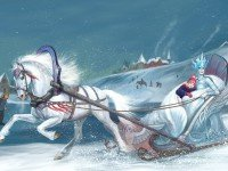 Собирать пазл Снежная королева онлайн