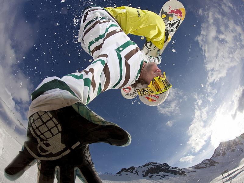 Пазл Собирать пазлы онлайн - Сноубордист