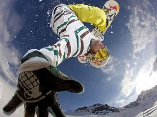 Собирать пазл Сноубордист онлайн
