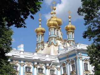 Собирать пазл Екатерининский дворец  онлайн