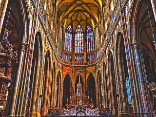 Собирать пазл Собор Святого Вита онлайн