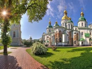 Собирать пазл Собор Святой Софии  онлайн
