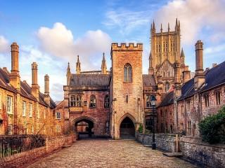 Собирать пазл Собор в Англии онлайн
