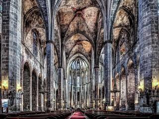 Собирать пазл Собор в Каталонии онлайн