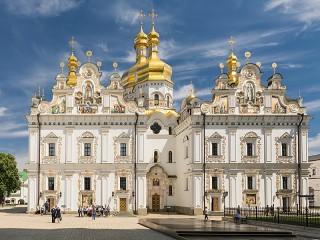 Собирать пазл Собор в Киеве онлайн