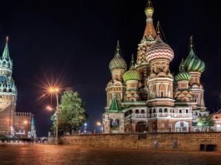 Собирать пазл Собор Василия Блаженного онлайн