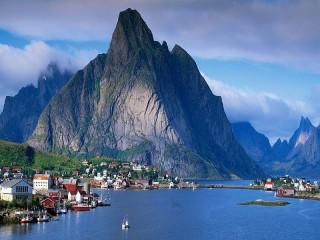 Собирать пазл Согнефьорд в Норвегии онлайн